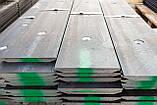 Ніж ковша Hardox 16 мм, 20 мм, 25 мм, 30 мм (ріжуча кромка ковша), фото 3