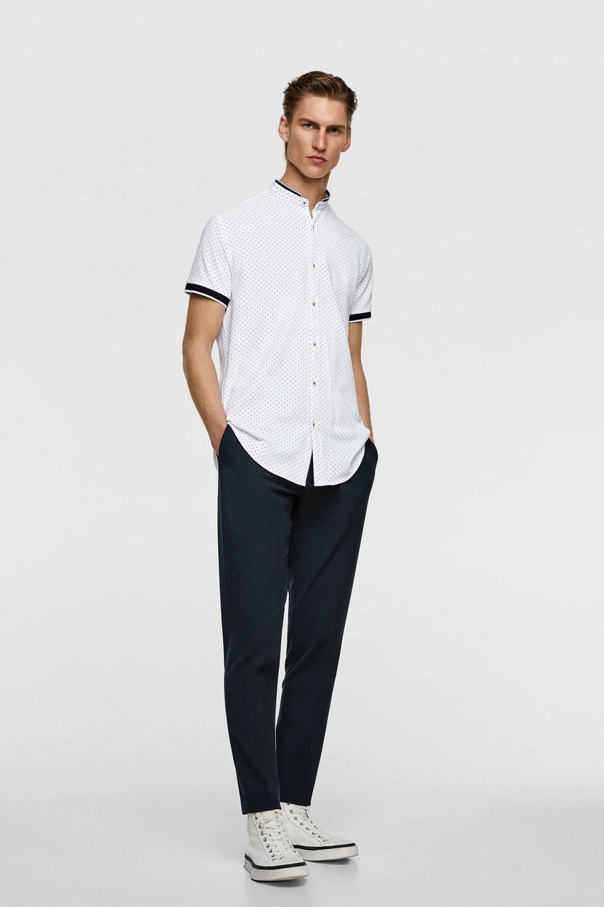 Рубашка мужская Zara белая (7545 261 250)