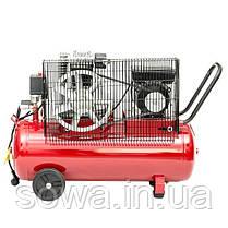 Компрессор поршневой INTERTOOL PT-0011 : 50 л, 1.8 кВт, фото 3