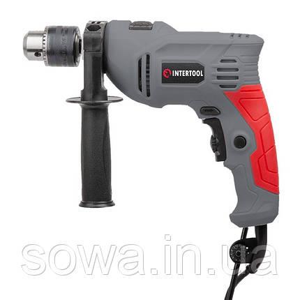 Дриль ударний INTERTOOL DT-0109 : 600 Вт, фото 2