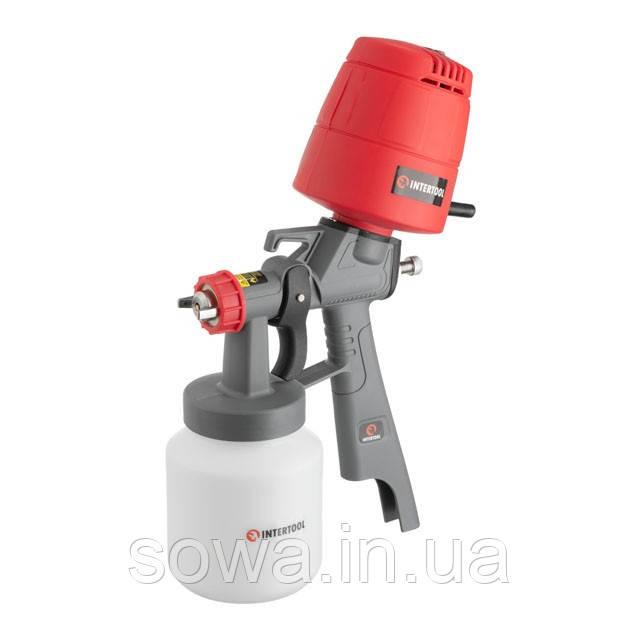 Краскопульт электрический HVLP INTERTOOL DT-5045 :  450 Вт