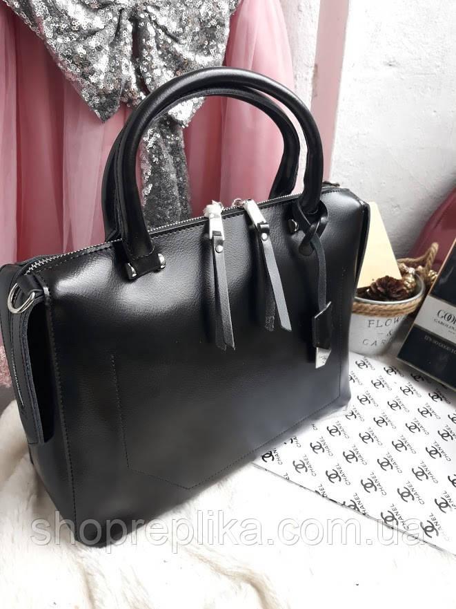 Кожаную сумку из натуральной кожи реплика Фенди , кожаные женские сумки
