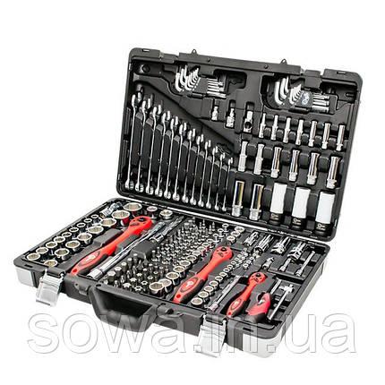Профессиональный набор инструментов INTERTOOL ET-7176 : 176 ед, фото 2