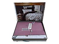 Комплект постельного белья Maison D'or Pulume Volante Darc Lilac сатин 220-200 см разноцветный