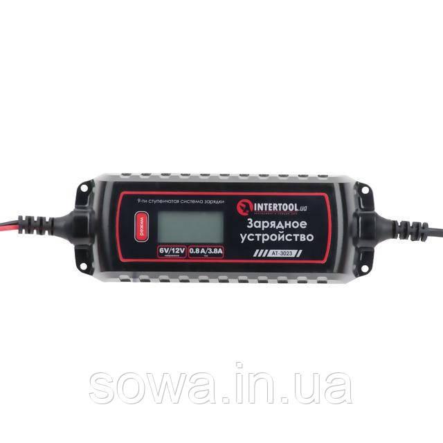 Зарядное устройство INTERTOOL AT-3023 : 6/12В