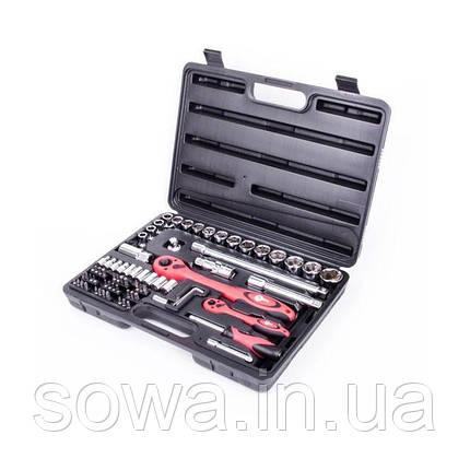 Профессиональный набор инструментов INTERTOOL ET-6072, фото 2