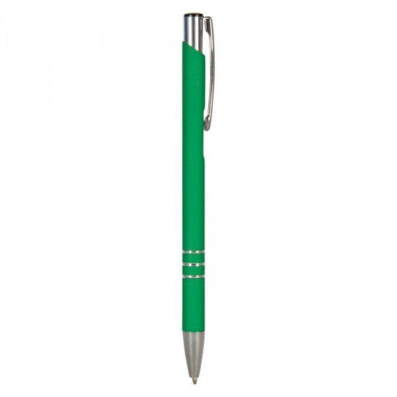 Ручка шариковая металлическая VOYAGER V1638, зеленая