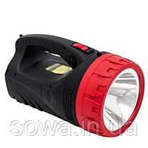 Фонарь аккумуляторный INTERTOOL LB-0102 : 1LED 5W + 25 LED, фото 3