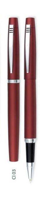 Ручка ролер Cirius, красная, Красный