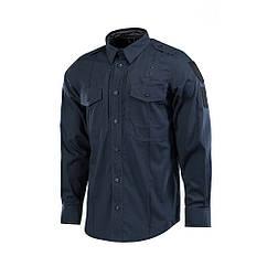 M-Tac рубашка Police Elite Flex рип-стоп Dark Navy Blue 2XL