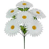 Букет штучних квітів Ромашка біла , 48 см, фото 1