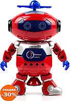 Интерактивная игрушка робот DANCE 99444, Танцующий светящийся робот Dancing Robot - Игры и игрушки
