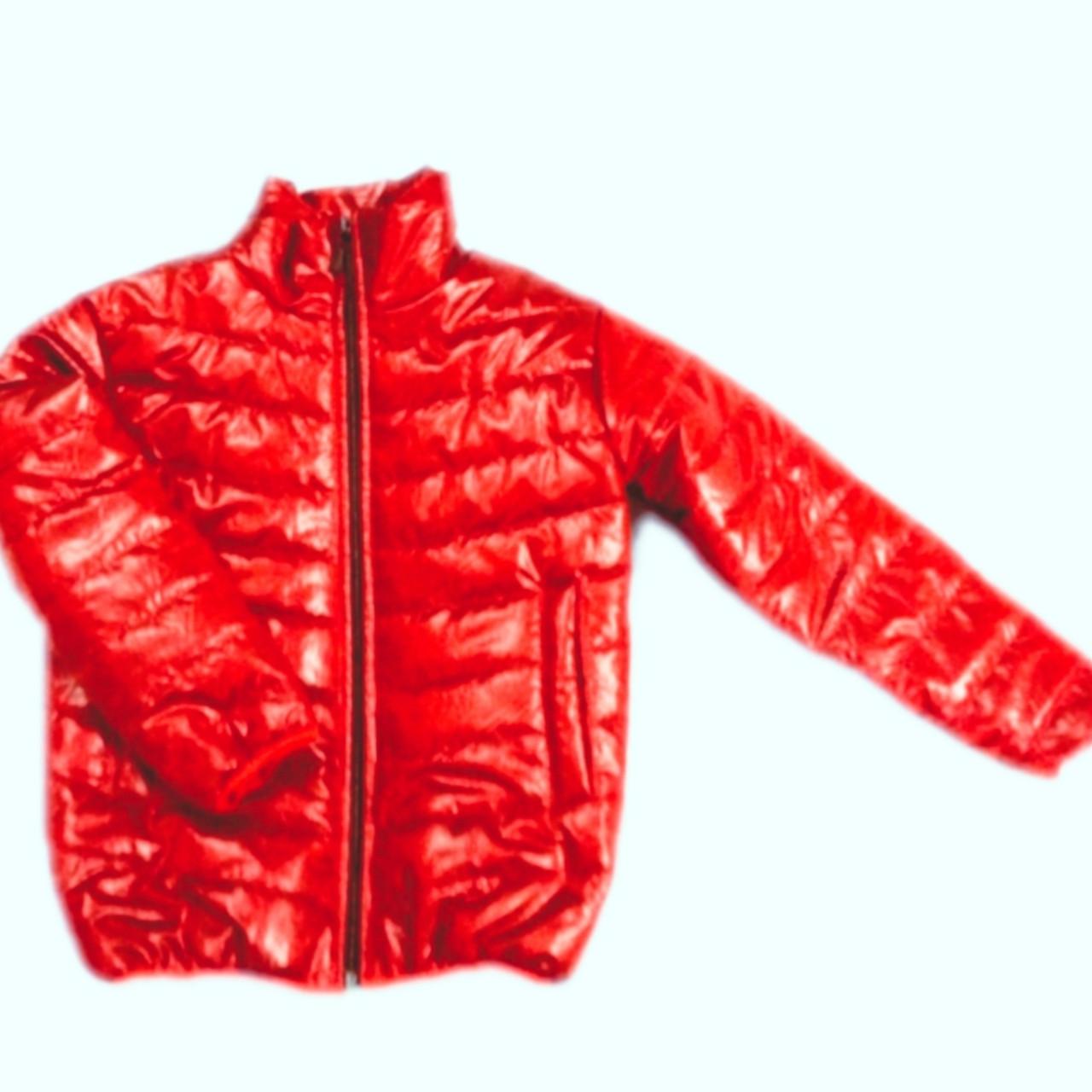 Куртка демисезонная для мальчиков (красный)
