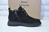 Женские ботинки натуральный нубук  Dino Vittorio, фото 4