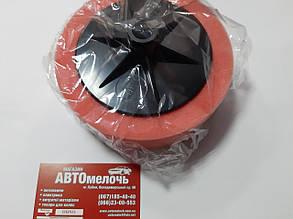 Круг полировальный (мягкий) на поролоне оранжевый M14 150x50мм Wellvis