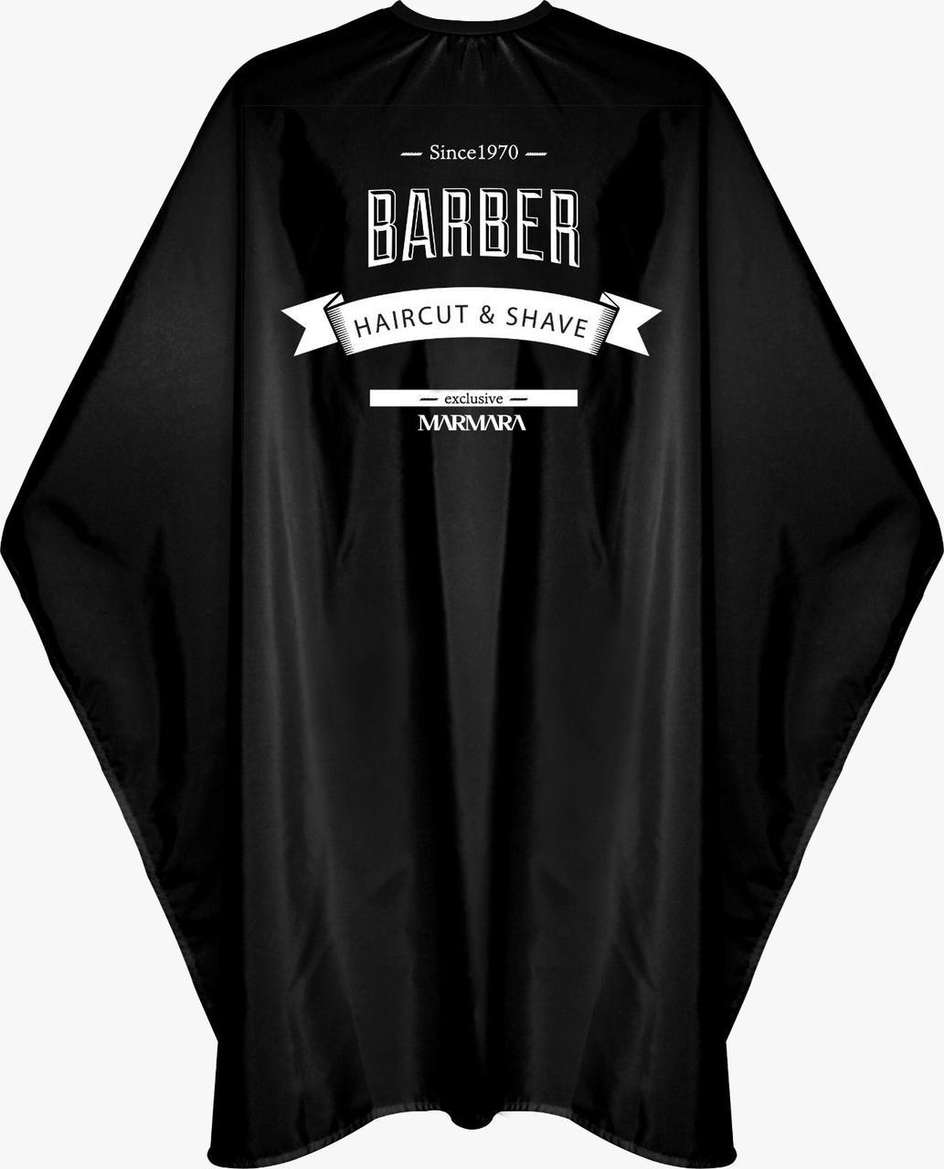 Накидка парикмахерская Marmara Barber Cape Black