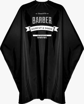Накидка перукарня Marmara Barber Cape Black