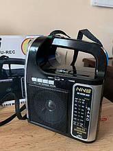 Радиоприемник с фонарем NS-095U, Портативный радиоприемник, Фонарь с радио, Переносной радиоприемник с юсб