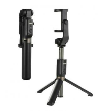 Селфі палка (монопод,тринога) Remax RP-P9 пульт bluetooth black