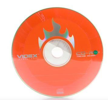 "CD-R ""Videx"" 52x 700mb bulk(10) №4752"