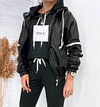 Жіноча вітровка спортивна з плащової тканини, фото 2