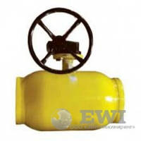 Кран шаровой приварной с редуктором Ballomax (Балломакс) DN125 PN25 для газа