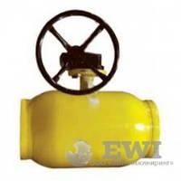 Кран шаровой приварной с редуктором Ballomax (Балломакс) DN150 PN25 для газа