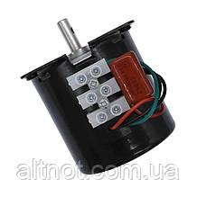 Електромотор 1,0 об/хв, 220В,14 Вт, 60KTYZ-8 реверсивний.
