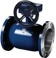Кран шаровой фланцевый с редуктором Ballomax (Балломакс) DN100 PN25 для воды (полнопроходной)