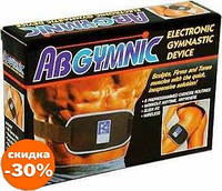 Пояс Миостимулятор AbGymnic + большой Гель - Товары для йоги и фитнеса
