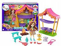 Игровой набор Энчантималс Ночевка в Саванне с куклой Жирафом Гризельда Enchantimals Mattel (GTM33)