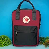 Сумка рюкзак Fjallraven Kanken 16 л (бордовый)