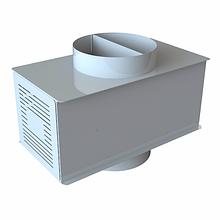 Димосос DPW діаметр 250, продуктивність 1100м3/год,для внутрішнього монтажу