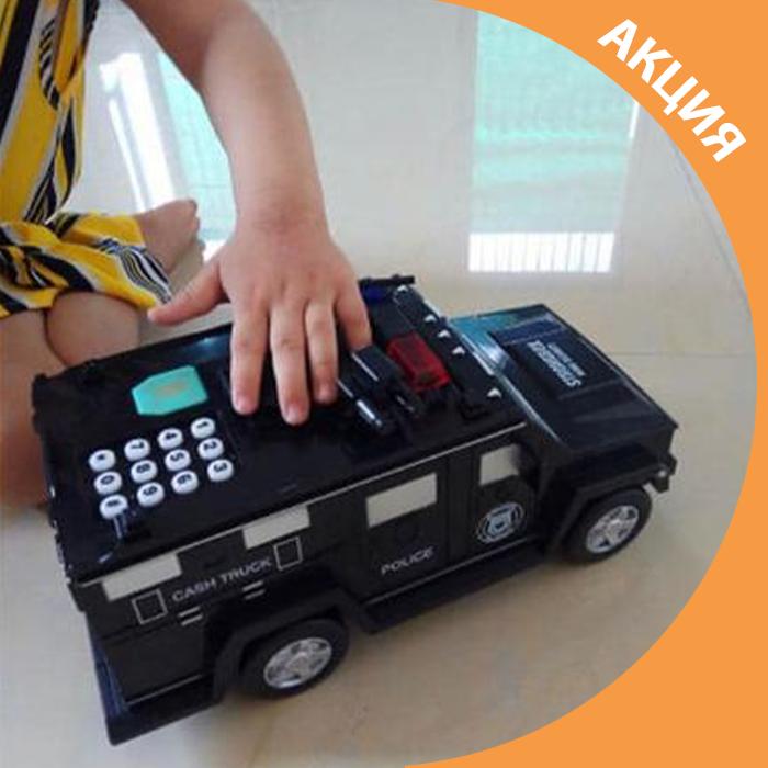 ✨ Детская машина копилка сейф с кодовым замком / развивающая игрушка хороший подарок ✨