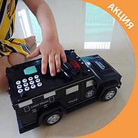 ✨ Детская машина копилка сейф с кодовым замком / развивающая игрушка хороший подарок ✨, фото 1