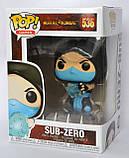 """Колекційна фігурка FUNKO POP! Серії """"Mortal Kombat"""" – SUB-ZERO, фото 3"""