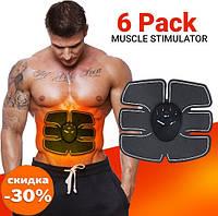 Миостимулятор body mobile gym 6 pack EMS для мышц пресса - Товары для йоги и фитнеса