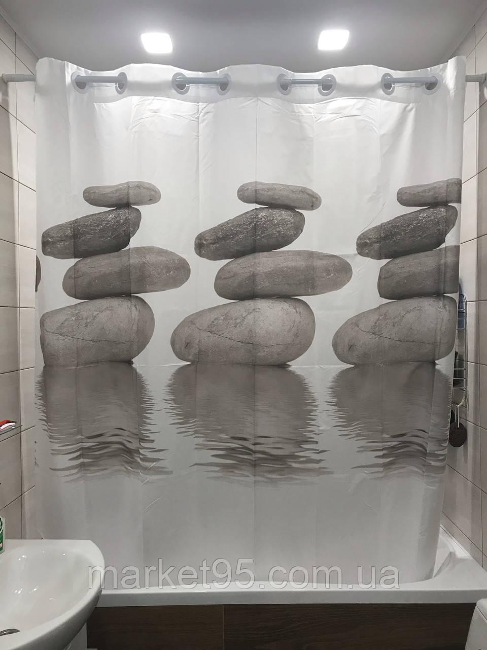 Штора для ванної Q-TAP Tessoro  200*200см