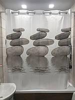 Штора для ванної Q-TAP Tessoro  200*200см, фото 1