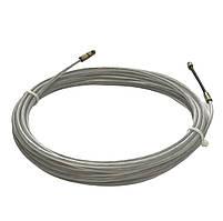 Устройство для протяжки кабеля, УЗК, протяжка стальная в нейлоновой оболочке, протяжка кабельная, 3мм