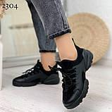 Тільки 39 р! Кросівки жіночі чорні текстиль + силікон/ гума весна-літо-осінь, фото 2