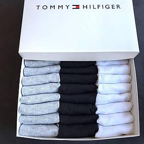 Набор мужских носков Tommy Hilfiger реплика (30 пар) в фирменной коробке