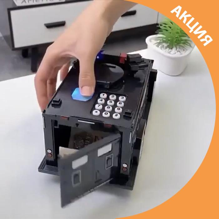 ✨ Сейф скарбничка машинка з кодовим замком дитяча розвиваюча іграшка відмінний подарунок ✨