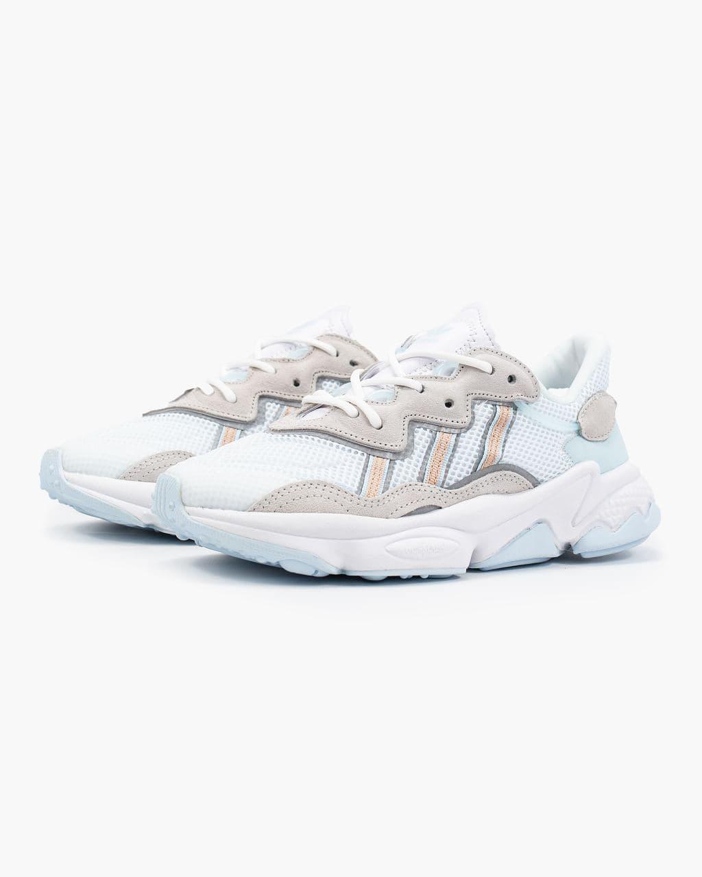 Білі жіночі Кросівки Adidas Ozweego