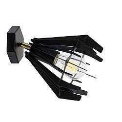 Настенный светильник Atmolight Stels W165 Черный с перламутром (1317)