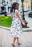 Женское летнее платье супер софт принт размер: 48-50, 52-54, фото 7