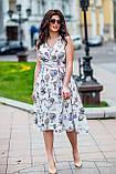Женское летнее платье супер софт принт размер: 48-50, 52-54, фото 6