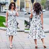 Женское летнее платье супер софт принт размер: 48-50, 52-54, фото 9