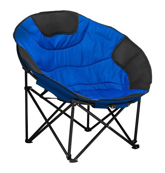Раскладное кресло для кемпинга и отдыха на природе NeRest NR-40, синее