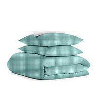 Комплект полуторного постельного белья DROP MINT WHITE 1374440417, фото 1